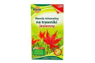 Nawóz mineralny na trawniki jesienny o ulepszonej formule 1kg PLANTA karton