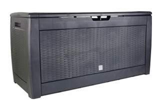 Pojemnik ogrodowy BOXE RATO - ANTRACYT MBR310-S433, skrzynia 60x119x48cm