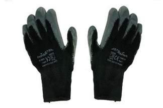 Rękawice robocze typu DRAGON 9 szare (1 para)