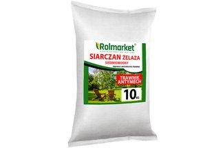 Siarczan żelaza (II) siedmiowodny 10 kg – nawóz antymech do trawnika