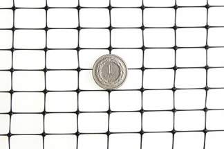 Siatka przeciw kretom, na krety, oczko 13x20mm – 2x20 m czarna
