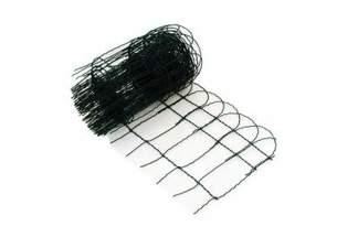 Siatka rabatowa metalowa + PCV 0,4x10m