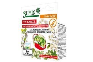 Stymulator wzrostu i plonowania roślin Tytanit Sumin 5ml