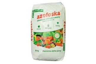 Uniwersalny nawóz ogrodniczy, nawóz kompleksowy granulowany Azofoska 25 kg