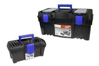 Zestaw skrzynka narzędziowa Caliber Czarny N22S i N12S
