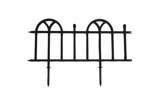 Stylowy płotek ogrodowy ANTICO CLASSIC czarny
