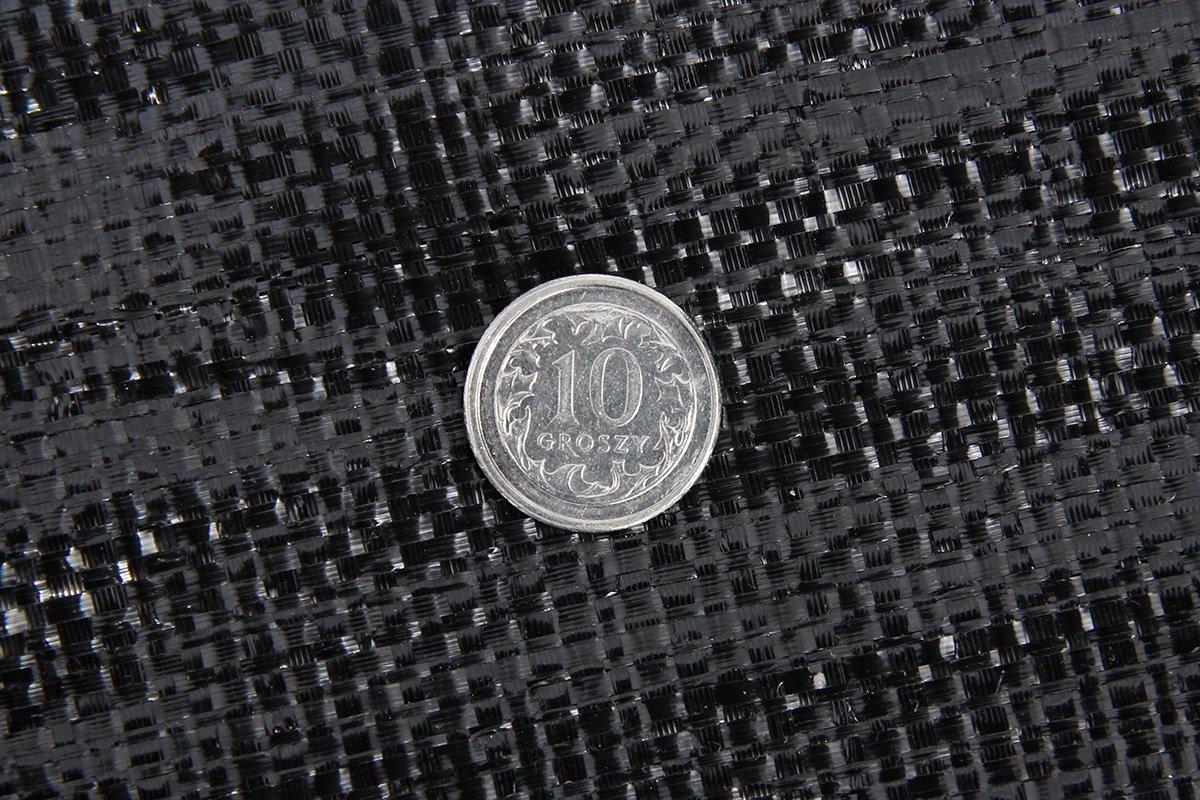 Polska szeroka agrotkanina czarna 4,45x50m (94g)