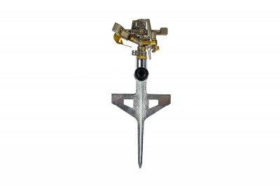 Profesjonalny metalowy zraszacz pulsacyjny, obrotowy z regulacją LUX