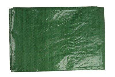 Gruba plandeka okryciowa zielona 15x20m 90gram