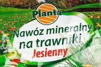 Nawóz mineralny na trawniki jesienny 3kg PLANTA