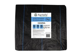 Agrotkanina czarna Agritella 1,1x20m 70g
