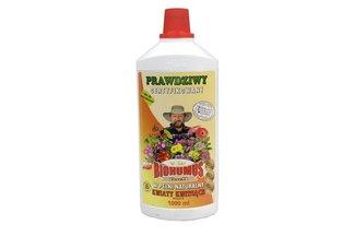 Biohumus Extra Kwiaty kwitnące 1 l – płynny nawóz naturalny