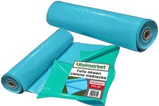 Folia do oczek wodnych, stawów i basenów Akwen 500, zielono-niebieska 6x4m