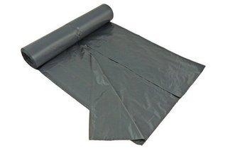 Foliowe worki do segregacji śmieci – mocne worki na śmieci  25 szt. 120 litrów czarne