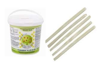 Funaben Plus 03PA do malowania ran drzew i krzewów 1kg + Paski do okulizacji 50 sztuk