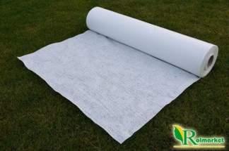Geowłóknina poliestrowa Biała 1.6x50m (160g)