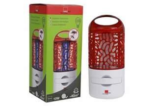 Lampa owadobójcza do domu na muchy, komary, mole - SWISSINNO 40m2 10W