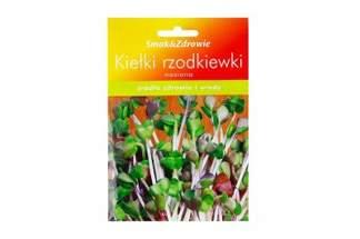 Nasiona na kiełki - rzodkiewka Smak&Zdrowie
