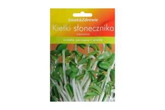 Nasiona na kiełki - słonecznik Smak&Zdrowie