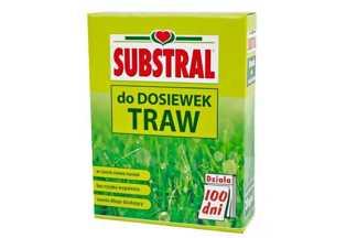 """Nawóz do dosiewek traw Substral """"100 dni"""" długo działający 1 kg"""