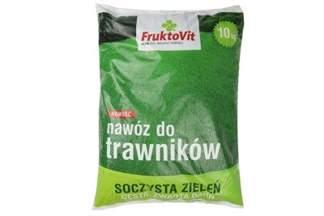 Nawóz mineralny granulowany do trawników 10kg Fruktovit Plus