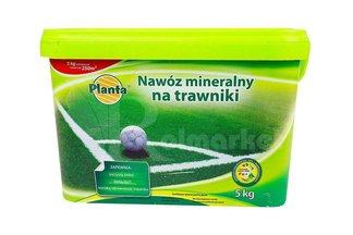 Nawóz mineralny na trawniki w wiaderku  Planta 5 kg