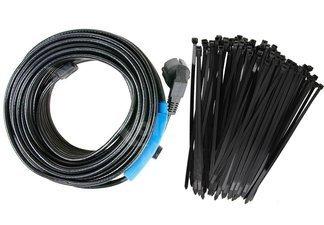 Niemiecki kabel grzewczy 4m z energooszczędnym termostatem + opaski kablowe Gratis!