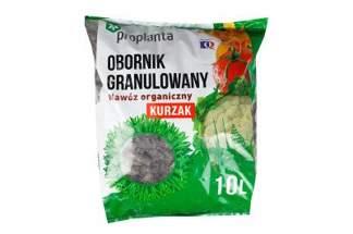 Obornik granulowany kurzy Proplanta Kurzak 10 litrów – nawóz naturalny