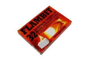 Podpałka biała Flambit 32 kostki (10 szt.)