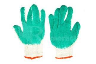 Rękawice robocze WAMPIRKI L zielone (300 par)
