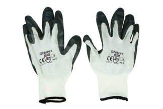 Rękawice robocze nitrylowe 9 szare (1 para)