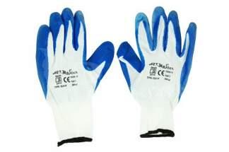 Rękawice robocze nylonowe 10 niebieskie (1 para)