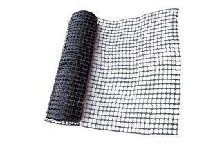 Siatka przeciwśnieżna ogrodzeniowa, drogowa 1,2x50m, kolor czarny M6