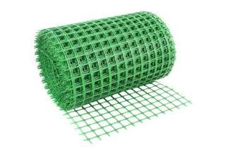 Siatka rabatowa wzmacniana (kontenerowa, ogrodzeniowa) 0,4x25 m zielona K04