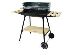 Solidny duży grill prostokątny z trzema półkami Mastergrill SUP605