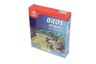 Spirale na komary BROS Citronella 10 sztuk