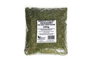 Suszony skrzyp polny 200 g - naturalny środek do eko oprysków na przędziorki, roztocza, wgryzki szczypiorkowe