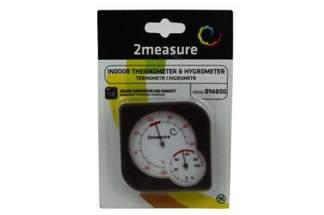 Termometr higrometr wiszący/stojący 014800