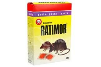 Trutka na myszy i szczury Ratimor pasta 500g