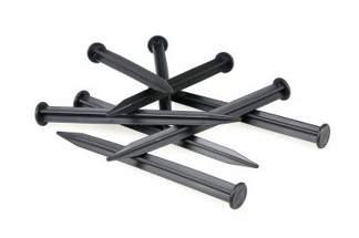Uniwersalne kotwy (szpilki) mocujące do obrzeży: Eko-Bord, Geoborder, Polbord, Elasteo, Bordeo - 18cm 10 sztuk