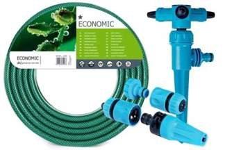 Wąż ECONOMIC 3/4 50m + zraszacze 50-505 + Twister