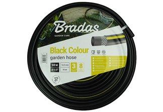 Wąż ogrodowy, 3-warstwowy Black Colour 1/2 50m