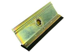 Wytrzymała, metalowa ściągaczka do wody, prosta 40 cm