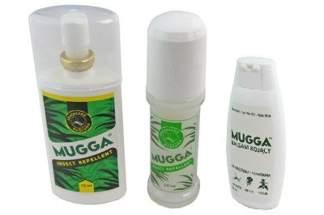 Zestaw Mugga balsam kojący + roll-on + balsam na komary