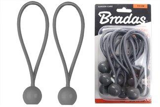 Zestaw gum mocujących z zaczepem kulowym BUNGEE CORD BALL 0,5x15cm 10szt