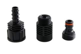 Zestaw z reduktorem ZLW+R do połączenia linii kroplującej 16mm z wężem ogrodowym ZLW+R