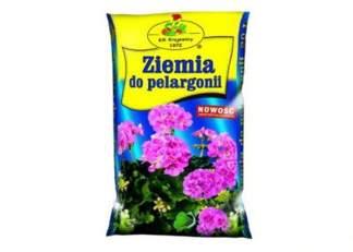 Ziemia do pelargonii i roślin balkonowych KiK Krajewscy KiK Krajewscy 50L