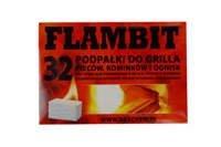 Podpałka biała Flambit 32 kostki (24 szt.)