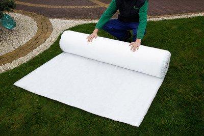 Agrowłóknina wiosenna biała 12,8x100m (23g) Wzmacniane Brzegi