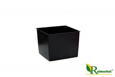 Doniczka (donica) Coubi DUW 160  z wkładem wewnętrznym - oliwkowa